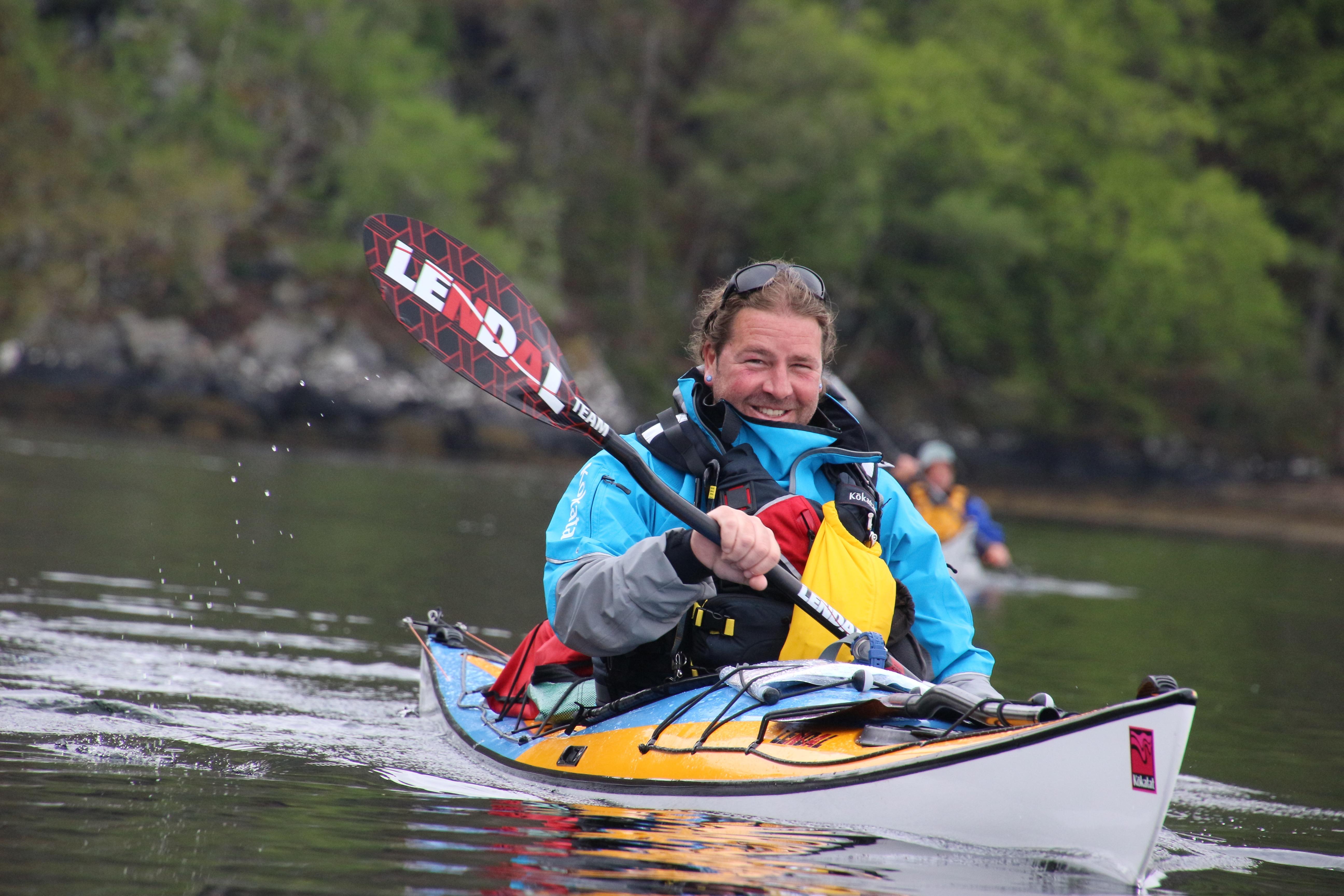 Lendal Proteam Shaun Rodgers carbon Storm kayak paddle