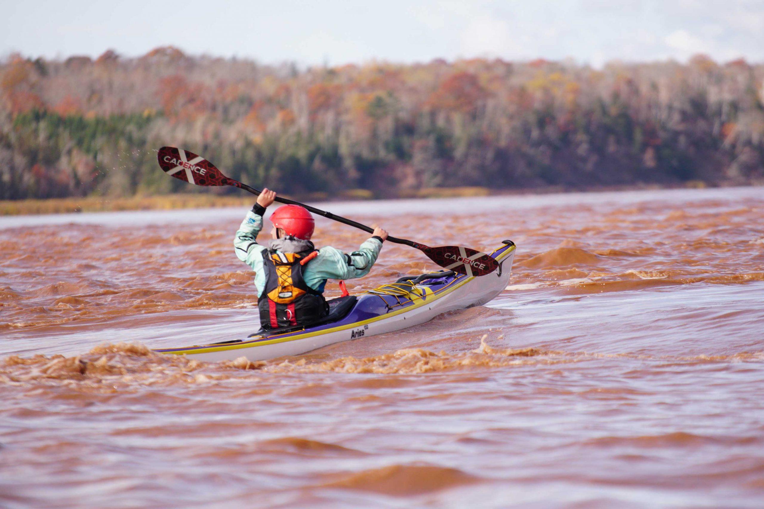 Ambassador Genna Dauphine Lendal Candence X kayak paddle Shubie, Nova Scotia